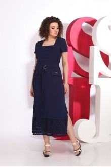 Juliet style  D18 -1 синий +шитье