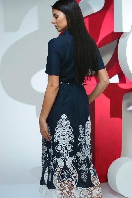 Juliet style D47 синий+шитье