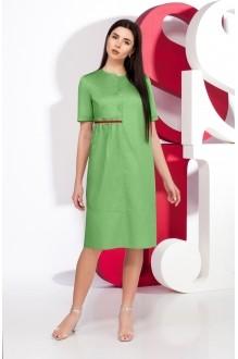 Juliet style  D65 -1 зеленый+тесьма красный