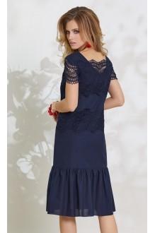 Летние платья Vittoria Queen 7793 синий фото 2