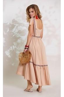 Длинные платья, платья в пол Vittoria Queen 8493 песок фото 2