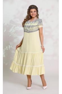 Летние платья Vittoria Queen 8553 -1 желтый фото 1