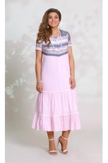 Летние платья Vittoria Queen 8553 розовый фото 1