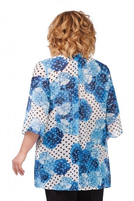 *Распродажа Pretty 740 синие цветы