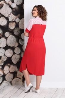 Летние платья Мублиз 338 красный фото 2