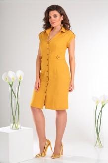 Летние платья Мода-Юрс 2346 жёлтый фото 2