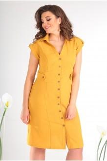Летние платья Мода-Юрс 2346 жёлтый фото 3