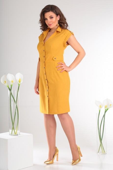 Летние платья Мода-Юрс 2346 жёлтый