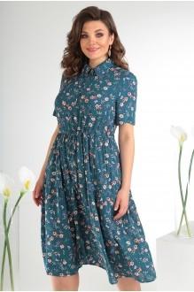 Летние платья Мода-Юрс 2479 тёмный фото 4