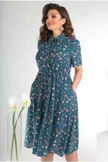 Летние платья Мода-Юрс 2479 тёмный фото 5