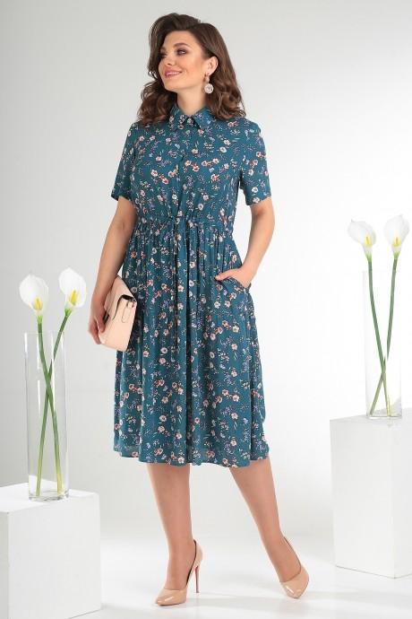 Летние платья Мода-Юрс 2479 тёмный