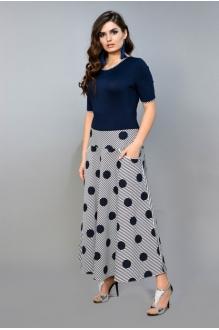 Модель *Распродажа Diva 1018 синий+белый