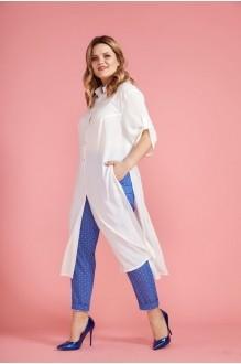 Anastasia 284 молочный/голубой