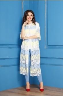 *Распродажа Anastasia 274 бело-желто-голубой