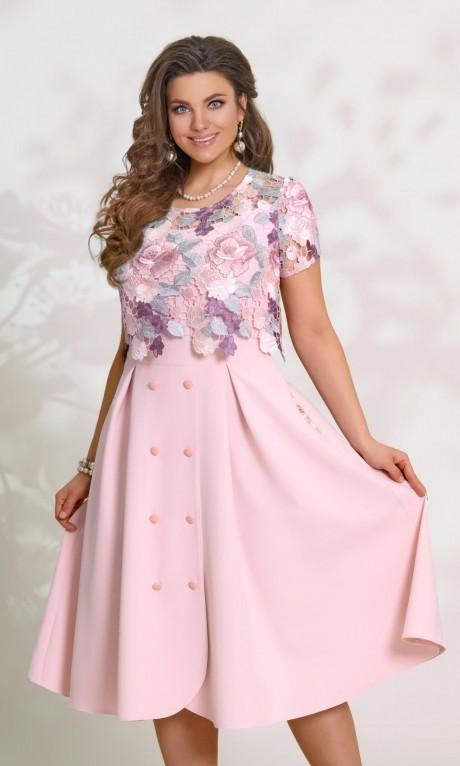 Вечерние платья Vittoria Queen  5953 -4 нежно розовый