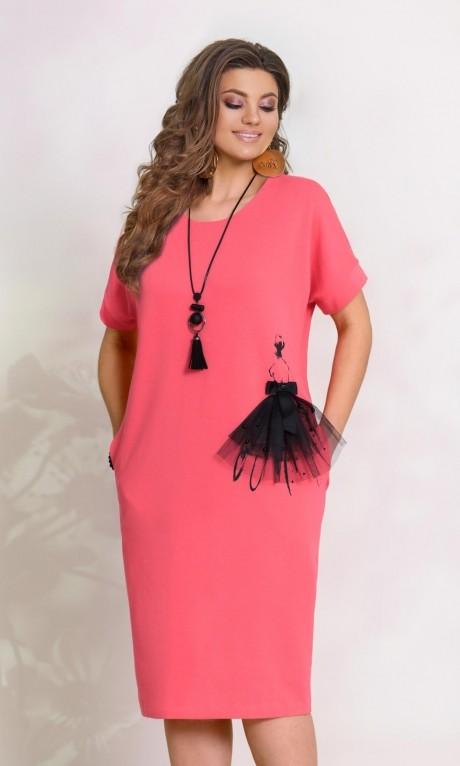 Повседневные платья Vittoria Queen  8223 -2 розовый