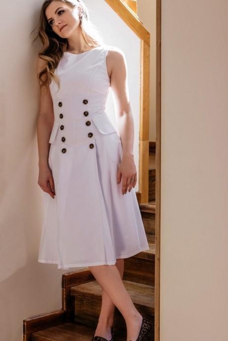 Летние платья Nova Line 5839 белый