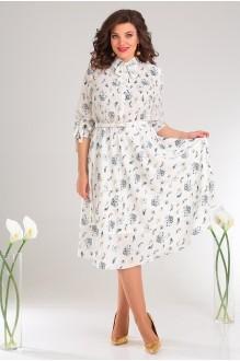 Мода-Юрс 2481 белый+цветы