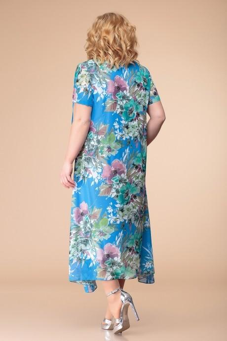 Romanovich Style 1-1332 голубой принт