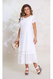 Длинные платья, платья в пол Vittoria Queen  8483 белый фото 1