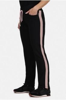 *Распродажа Mirolia 427-R чёрный+розовый лампас