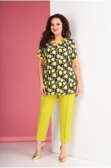 Брючные костюмы /комплекты Ksenia Stylе 1665 лимоны фото 1