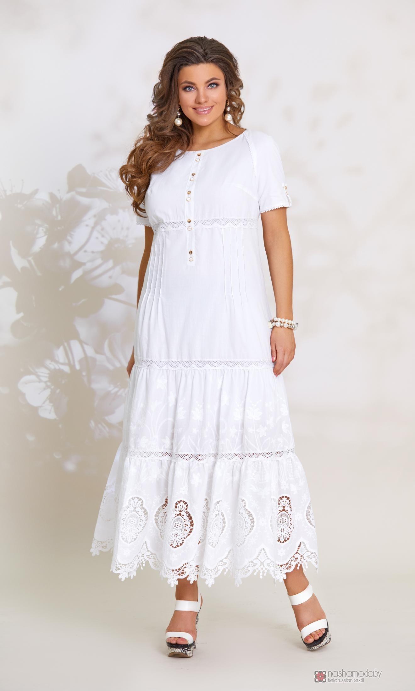 887f5a0e3e31 Длинные платья, платья в пол Vittoria Queen 8243 белый.