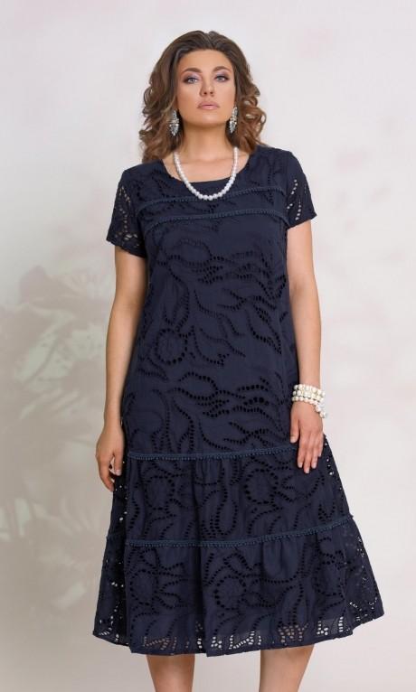 e0e91ff89cc ... Летние платья Vittoria Queen 9103 -1 синий