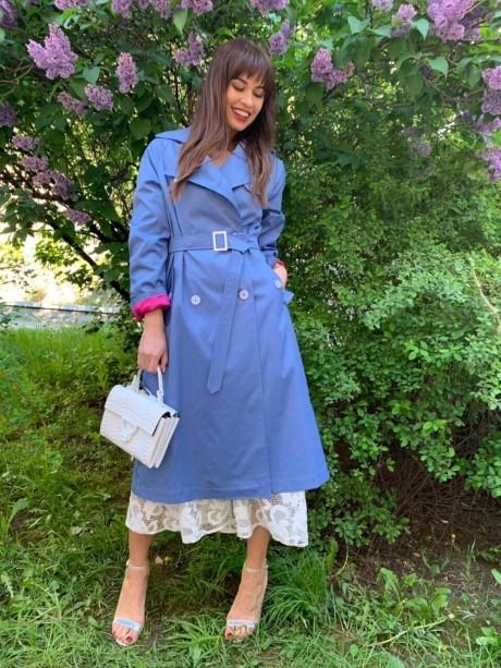 Плащи Sorochinskaya  0342006 ярко-голубой