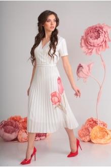 Модель *Распродажа SandyNa 13582 белый тюльпан