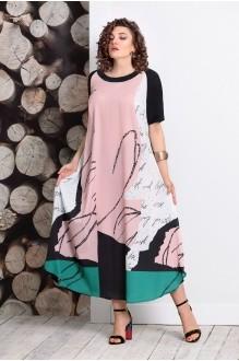 Длинные платья, платья в пол Мублиз 359 пудра фото 1