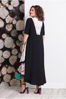 Длинные платья, платья в пол Мублиз 359 пудра фото 2