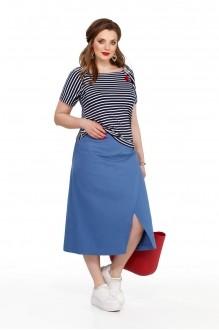 TEZA 192 голубая юбка