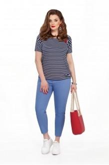 TEZA 204 голубые брюки