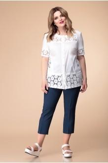 Romanovich Style 2-1083 белый/тёмный джинс