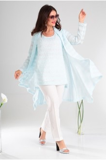 Мода-Юрс 2357 -1 нежно-голубой + молочный