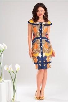 Мода-Юрс 2129 синий + оранж