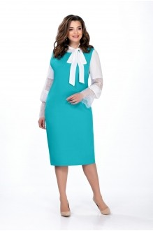 Юбочные костюмы /комплекты TEZA 138 бирюза фото 1