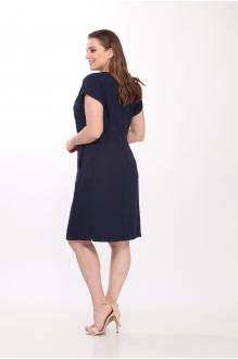 Летние платья Belinga 1036 тёмно-синий фото 5