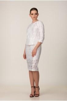 Юбочные костюмы /комплекты *Распродажа Rosheli 519 белый фото 1