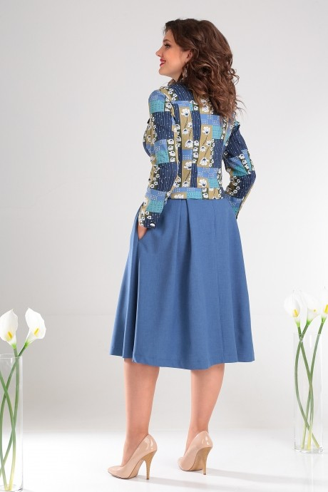 Мода-Юрс 2400 синий +зеленый