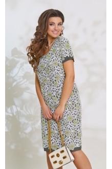 Повседневные платья *Распродажа *Распродажа Vittoria Queen 7753 олива фото 2
