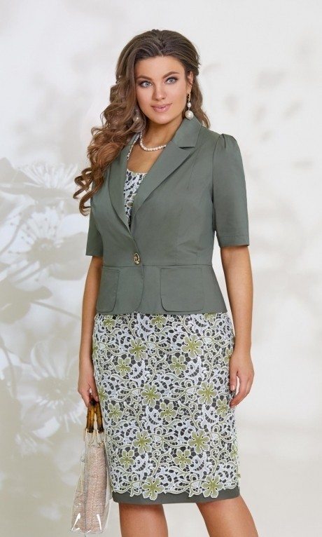 Повседневные платья *Распродажа *Распродажа Vittoria Queen 7753 олива