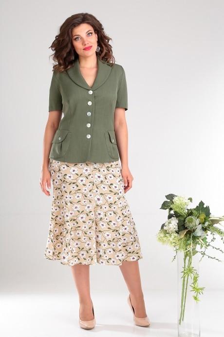 Мода-Юрс 1741 зелёный