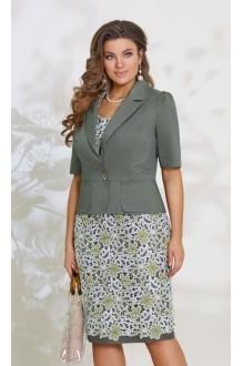 Повседневные платья *Распродажа *Распродажа Vittoria Queen 7753 олива фото 1