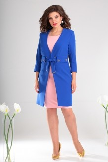 Мода-Юрс 2478 василёк + розовый