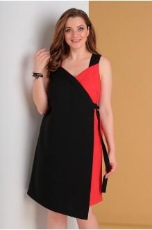 Лиона-Стиль 703 красный с черным