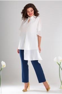 Мода-Юрс 2486 белый + синий
