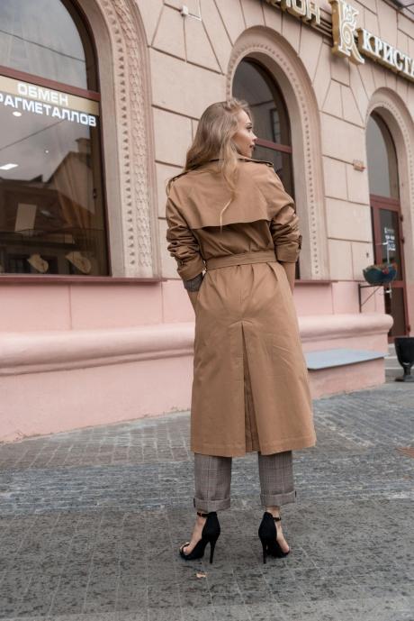 Sorochinskaya 0342008 тренч золотисто-бежевый