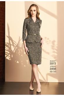 Bazalini 3456 юбка зеленая